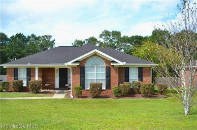 Semmes Single Family Home For Sale: 2023 Caleb Court