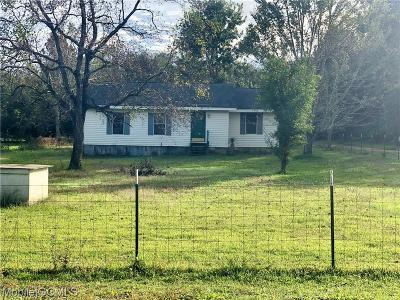 Theodore Single Family Home For Sale: 5615 Raybon Road