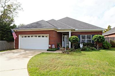Mobile Single Family Home For Sale: 812 Arbor Court