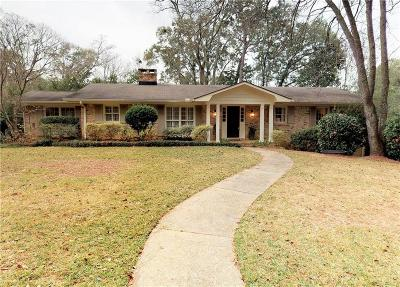Mobile Single Family Home For Sale: 4133 Ursuline Drive