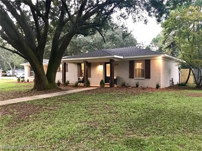 Semmes Single Family Home For Sale: 4250 Camellia Circle W
