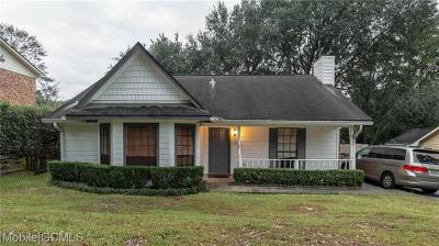 Mobile Single Family Home For Sale: 5625 Green Tree Road