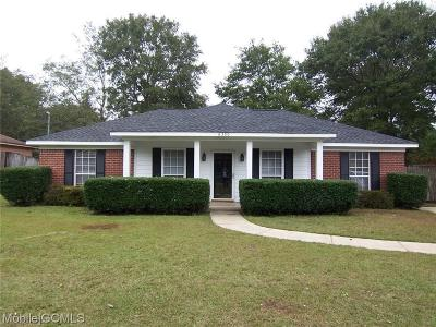 Theodore Single Family Home For Sale: 6360 Woodside Drive
