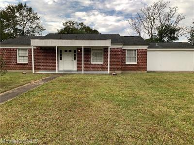 Mobile County Single Family Home For Sale: 4934 Bavarian Drive W