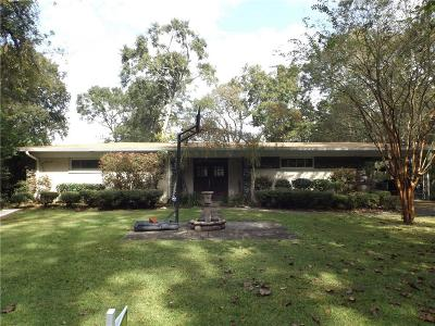 Mobile Single Family Home For Sale: 2058 Point Legere Road