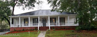 Mobile Single Family Home For Sale: 7330 Deerwood Circle