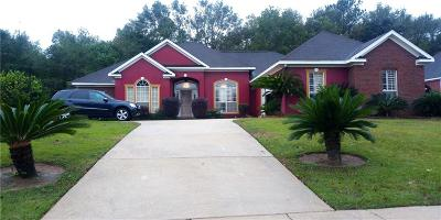 Mobile Single Family Home For Sale: 8719 Augusta Drive