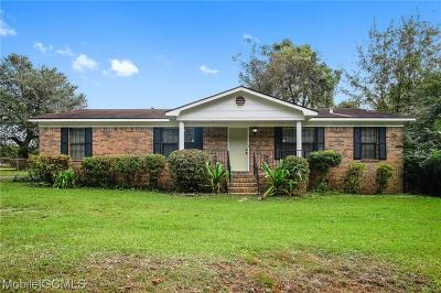 Mobile Single Family Home For Sale: 4675 Sollie Road