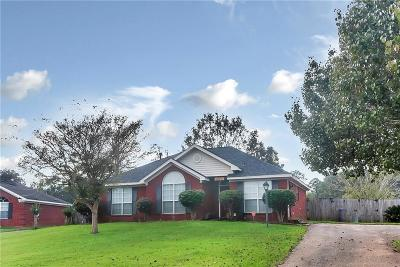 Mobile Single Family Home For Sale: 5072 Ginger Court