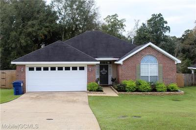 Mobile Single Family Home For Sale: 9331 Champion Circle S