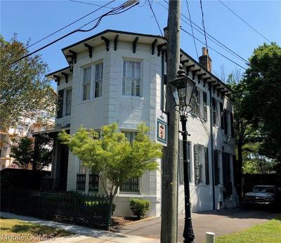 Mobile County Single Family Home For Sale: 254 Jackson Street N