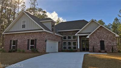 Mobile County Single Family Home For Sale: 3926 Stone Mill Circle S