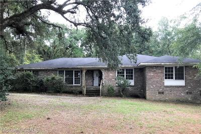 Mobile Single Family Home For Sale: 2505 Demetropolis Road