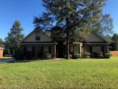 Semmes Single Family Home For Sale: 3610 Whitestone Drive