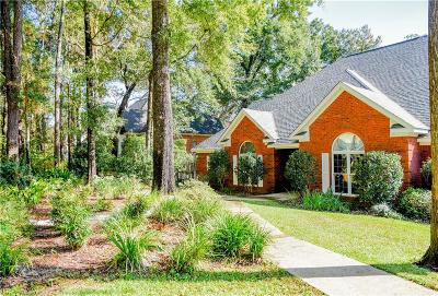 Mobile County Single Family Home For Sale: 5858 Vaughn Drive E