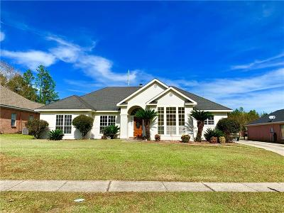 Single Family Home For Sale: 7610 Cumberland Court