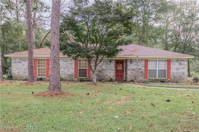Semmes Single Family Home For Sale: 2828 Firetower Road