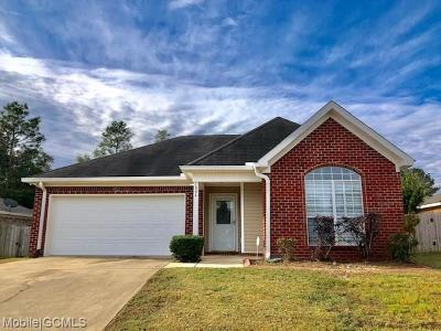 Mobile County Single Family Home For Sale: 1804 Harrington Way