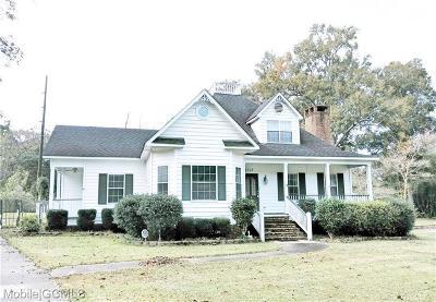 Mobile Single Family Home For Sale: 5713 Foxfire Lane
