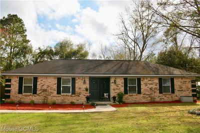 Theodore Single Family Home For Sale: 6601 Apache Run