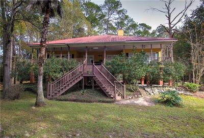 Baldwin County Single Family Home For Sale: 18115 River Road