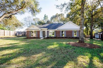 Mobile Single Family Home For Sale: 9967 Wedgefield Court