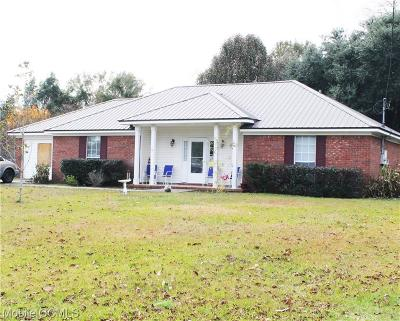 Mobile Single Family Home For Sale: 4626 Golden Avenue