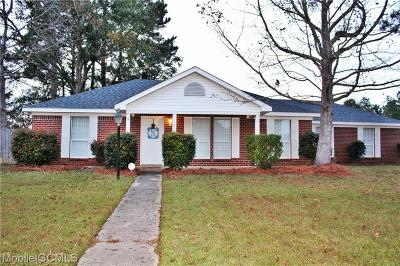 Semmes Single Family Home For Sale: 1865 Woodmont Drive