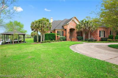 Mobile County Single Family Home For Sale: 3730 Belle Isle Lane