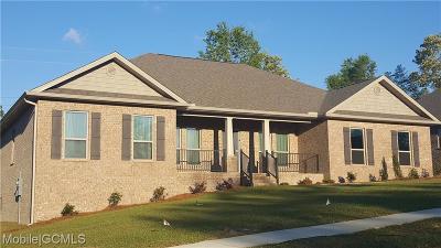 Saraland Single Family Home For Sale: 7862 Heritage Lane