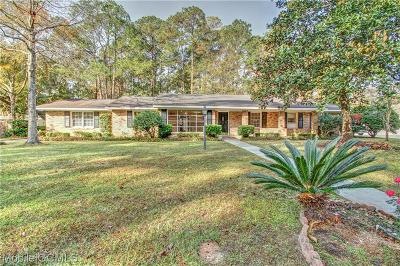 Mobile Single Family Home For Sale: 104 Conway Drive W
