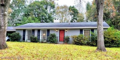 Mobile Single Family Home For Sale: 1503 Shan Drive S
