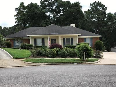 Mobile Single Family Home For Sale: 6100 Scenic West Drive