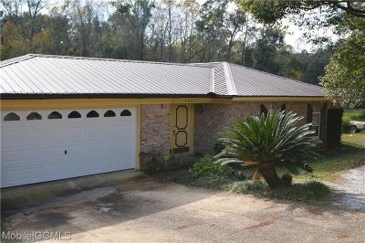 Mobile Single Family Home For Sale: 5501 Spring Drive