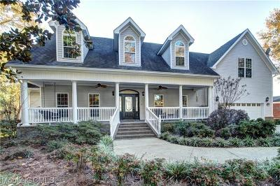 Mobile County Single Family Home For Sale: 3711 Burdine Road