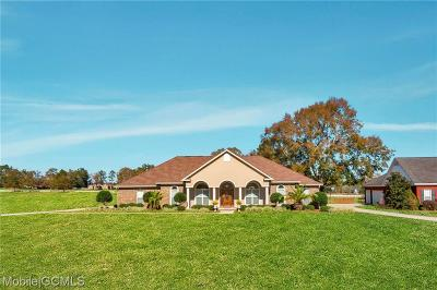 Mobile County Single Family Home For Sale: 12540 Deer Ridge Drive