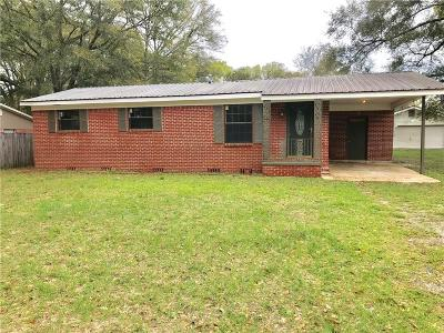 Mobile Single Family Home For Sale: 6925 Colonial Terrace