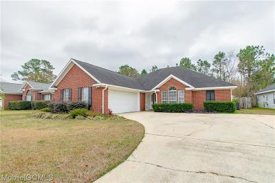 Mobile Single Family Home For Sale: 8533 Southern Oak Court