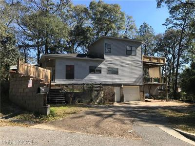 Mobile Single Family Home For Sale: 2601 Granada Avenue