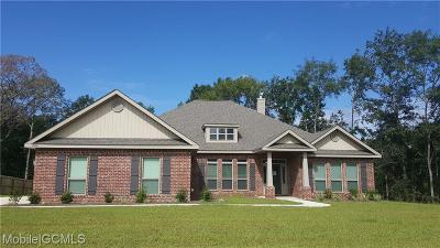 Semmes Single Family Home For Sale: 2440 Driftwood Loop W