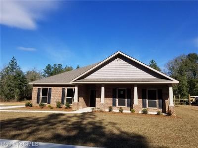 Semmes Single Family Home For Sale: 8296 Marigold Loop N