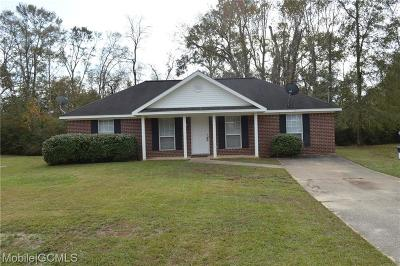Theodore Single Family Home For Sale: 5471 Drexel Drive