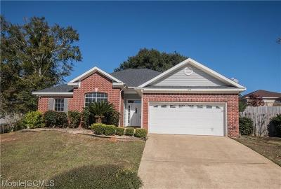 Mobile Single Family Home For Sale: 10158 Summerfield Way