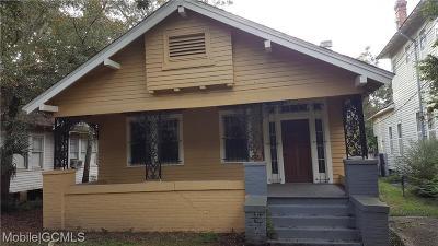 Mobile Single Family Home For Sale: 402 Michigan Avenue
