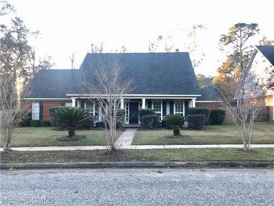 Mobile Single Family Home For Sale: 2282 Moss Creek Court