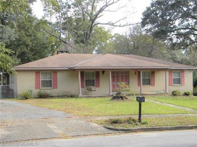 Mobile Single Family Home For Sale: 2655 Woodcliff Drive E
