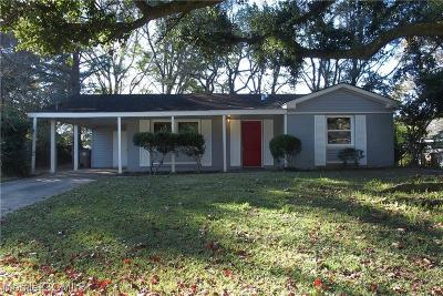 Mobile Single Family Home For Sale: 4057 Wesley Lane S