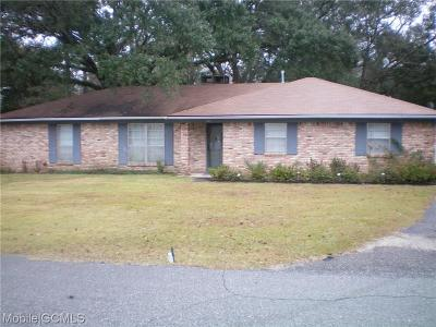Mobile County Single Family Home For Sale: 617 Ann Street