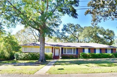Mobile County Single Family Home For Sale: 1208 Belle Chene Drive