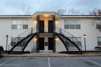 Mobile County Condo/Townhouse For Sale: 4009 Old Shell Road #B4